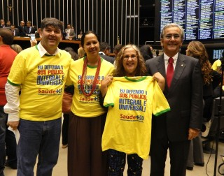 Movimento Saúde + 10 vai ao Congresso Nacional defender ampliação dos recursos para a saúde