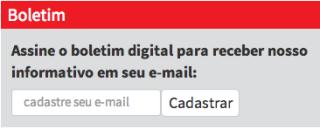 Cadastre seu e-mail no site do Cebes para receber nosso Boletim Digital semanal