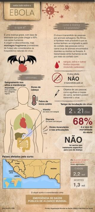 Número de profissionais de saúde contaminados por Ebola preocupa OMS