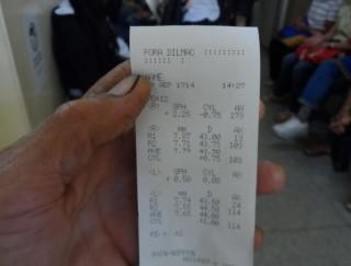 Denúncia: Santa Casa BH imprime exame com 'Fora Dilma'