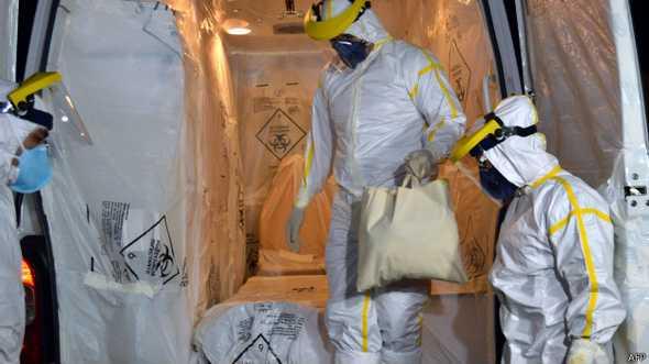 Primeiro exame de paciente deu negativo para ebola.