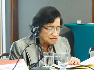 Maria Isabel Rodriguez recebe homenagem em Brasília
