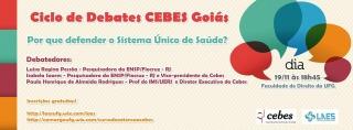 Cebes-GO promove Ciclo de Debates em Goiás