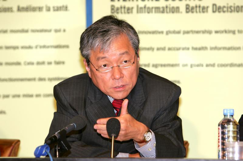 Foto: OMS |Para Cueto, mandato de Jong-wook fez frente ao contexto político mundial.