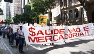 O SUS é de todo povo brasileiro! Saúde não é mercadoria! Saúde é democracia, democracia é saúde!