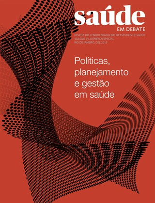 Revista Saúde em Debate, Vol. 39, Especial