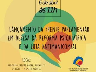 Movimentos da luta antimanicomial lançam frente parlamentar e encontro