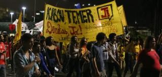 Nota: 'Fora Temer e Eleições diretas e gerais!'