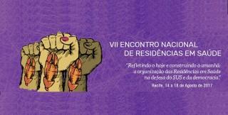 VII Encontro Nacional de Residências em Saúde