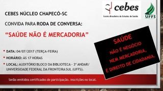 Núcleo Chapecó do Cebes promove evento e abre discussões para a comunidade regional