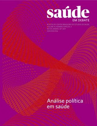 Revista Saúde em Debate, Vol. 41, Especial 3