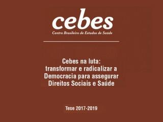 Tese do CEBES 2017-2019