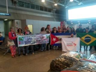 Cebes homenageia médicos cubanos que atuaram no Rio de Janeiro