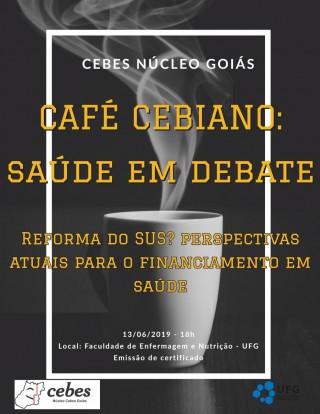 Cebes Goiás promove Café Cebiano: confira a programação dos debates