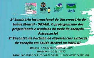 2º Seminário Internacional do OBSAM na UnB