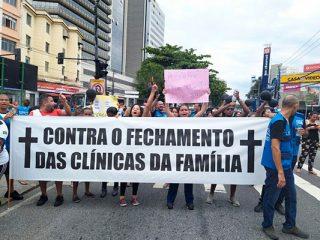 Cebes se solidariza à luta da população e trabalhadores do RJ em defesa da saúde pública