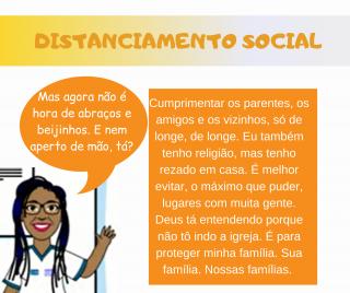 Angela, do ComunicaSUS, tem dicas de educação sanitária contra o Covid-19