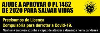 """Associação Brasileira Interdisciplinar de Aids: """"Precisamos de Licença Compulsória para derrotar a Covid-19"""""""