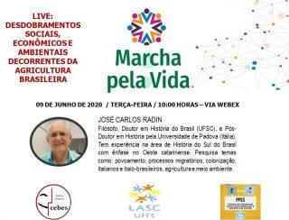 Live: Desdobramentos sociais, econômicos e ambientais decorrentes da agricultura Brasileira