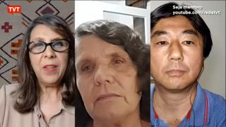 Lúcia Souto comenta no programa Brasil TVT o enfrentamento à covid-19 no momento onde o País atinge a marca de 136 mil mortes pela pandemia