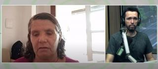 Lúcia Souto para rádio Brasil Atual: 'A pandemia não acabou! É persistente, com diminuição de casos em patamar elevado'
