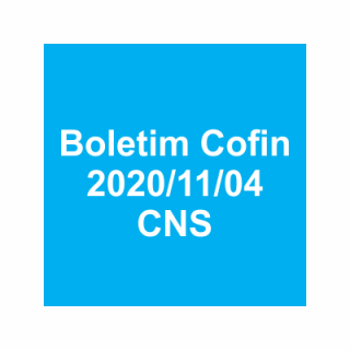 Boletim Cofin 2020/11/04